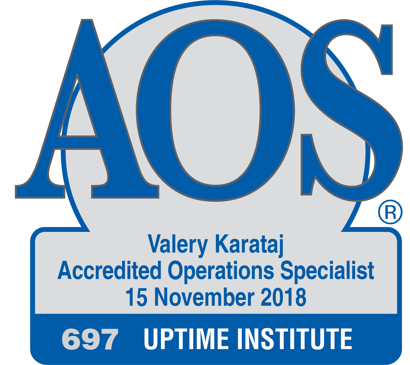 Accredited Operations Specialist Roster - Uptime Institute LLC