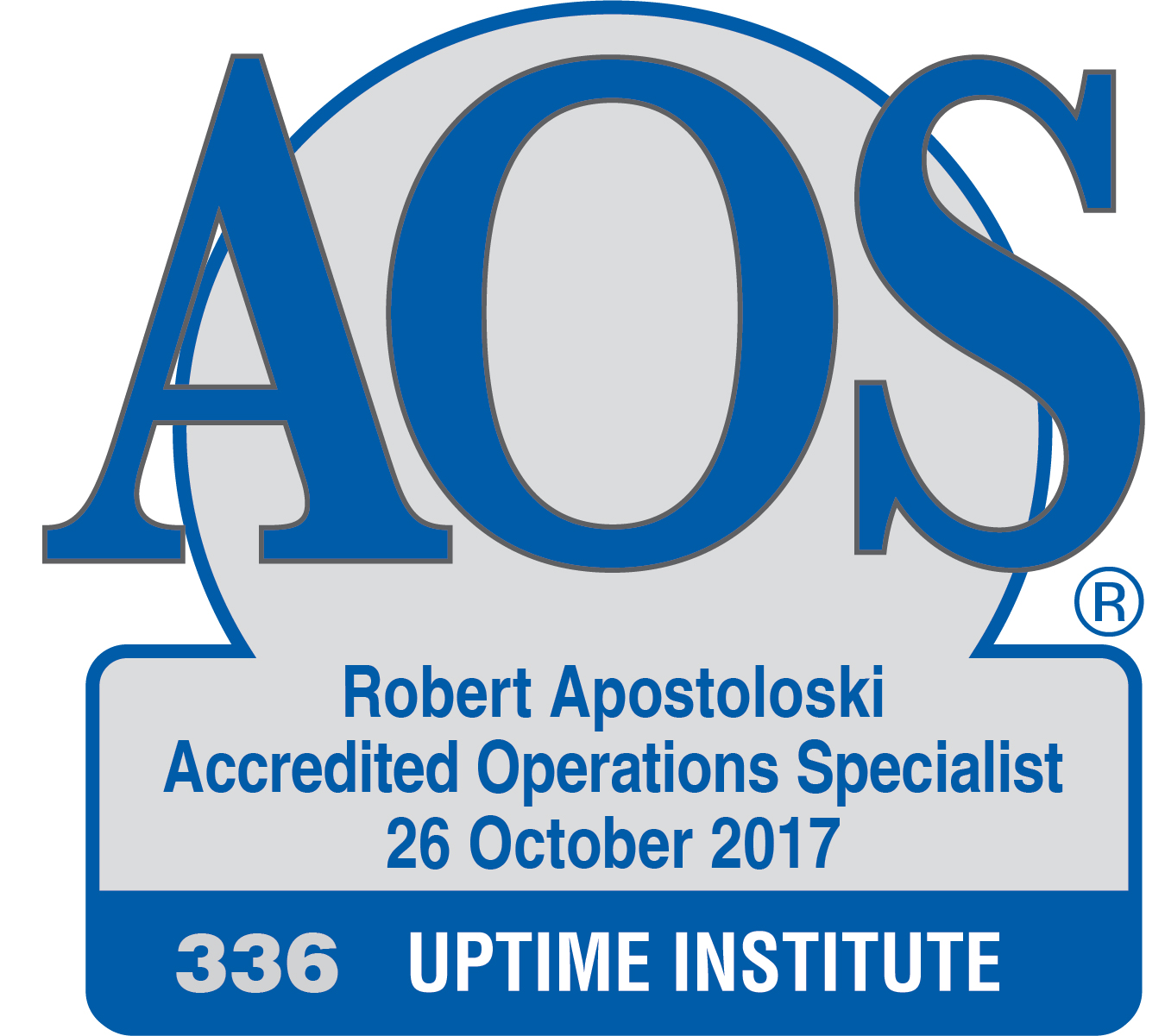 Cipriano Munoz Banos.Accredited Operations Specialist Roster Uptime Institute Llc