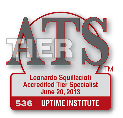 Accredited Tier Specialist Roster Uptime Institute