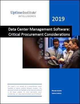 Report: Data Center Management Software: Critical Procurement Considerations