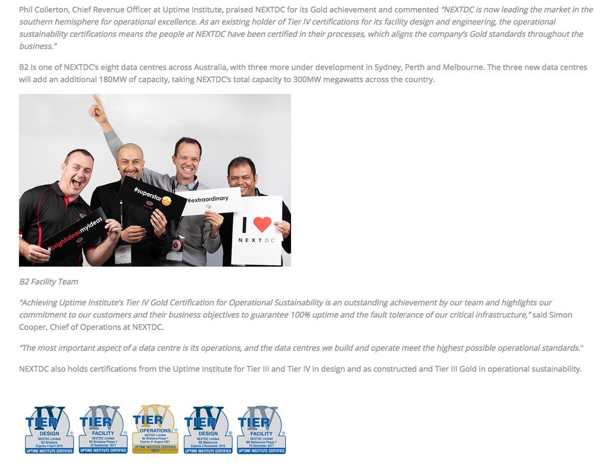Publicity Kit - Uptime Institute LLC