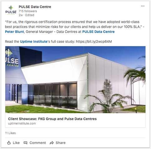 SocialMedia LinkedIn Pulse