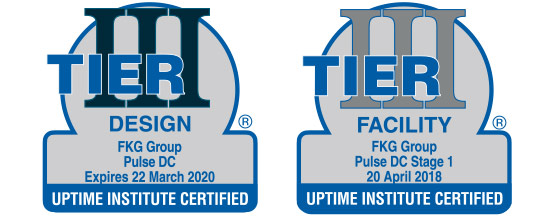 Tier III Design and Tier III Facility Foils for FKG Group and Pulse Data Centres