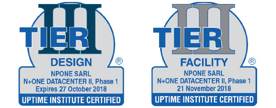 Certified Foils for N+ONE Datacenters
