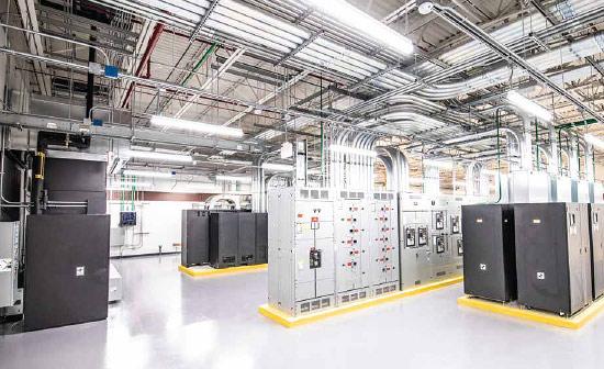 T5 Data Centers - Interior