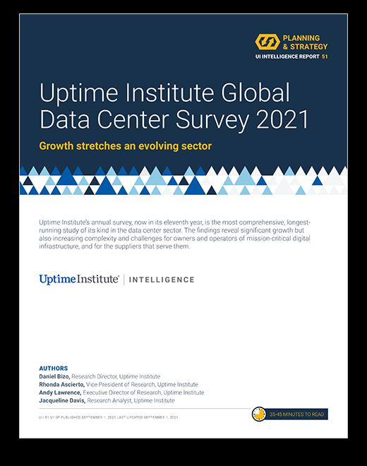 2021 年数据中心行业调查结果