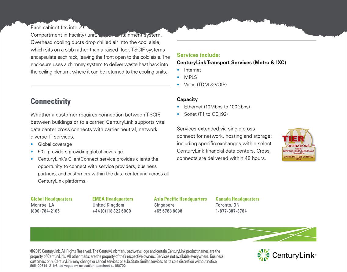 Corte CenturyLink