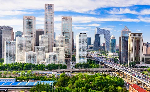 Treinamento em data centers em Pequim