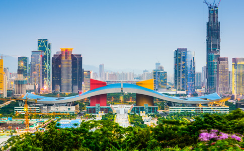 Treinamento em data centers em Shenzhen