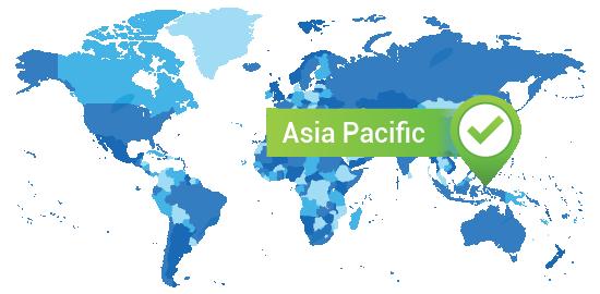 Treinamento em datacenters na região Ásia/Pacífico