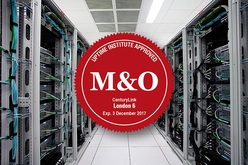 Selo de aprovação M&O da CenturyLink