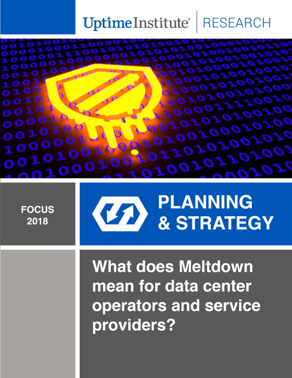 What does Meltdown mean for data center operators and service providers?
