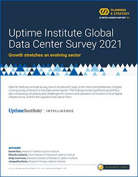 Resultados de la encuesta a la industria de los centros de datos de 2021