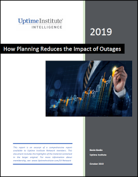 How Planning Reduces the Impact of Outages