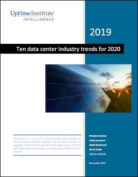 Report: Dez tendências do setor de datacenter para 2020
