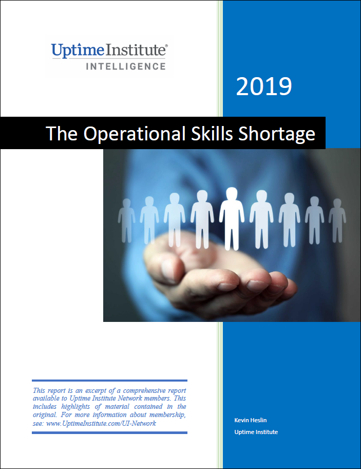 Report: Data Center Staffing: The Operational Skills Shortage
