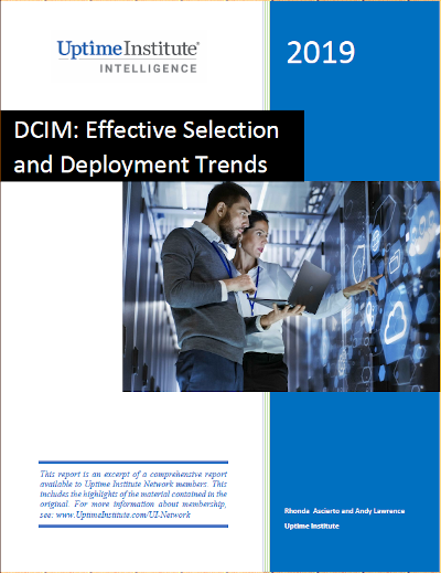 Report: DCIM: Effective Selection and Deployment Trends