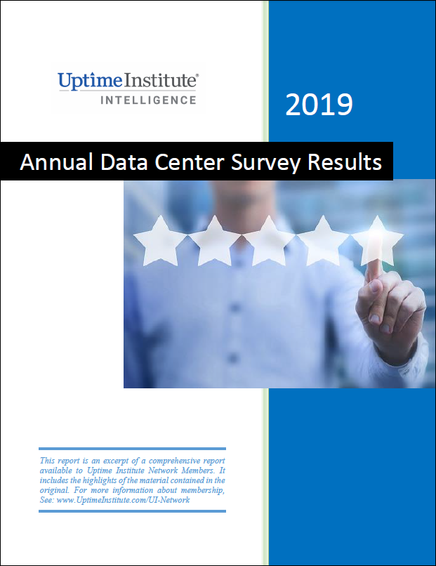 Report: Uptime Institute's 2019 Data Center Industry Survey Results