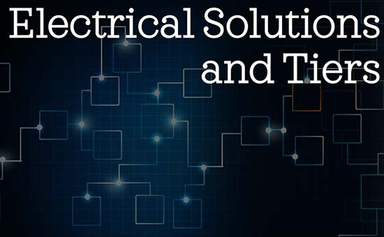 Electrical Solutions and Tiers (AS3)