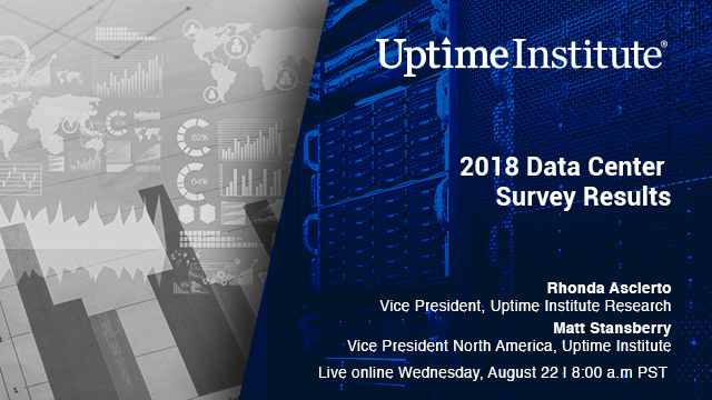 Seminario web: 2018 Data Center Survey Results