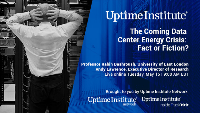 Seminario web: The Coming Data Center Energy Crisis: Fact or Fiction