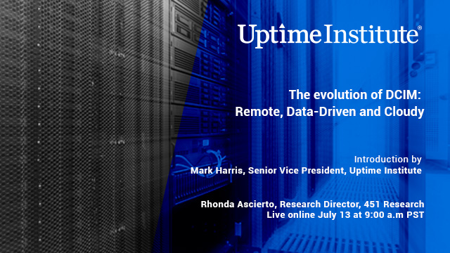 Seminario web: The Evolution of DCIM: Remote, Data-Driven and Cloudy