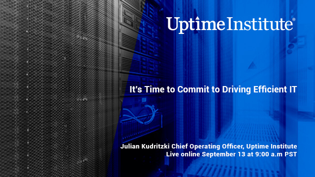 Seminario web: It's Time to Commit to Driving Efficient IT