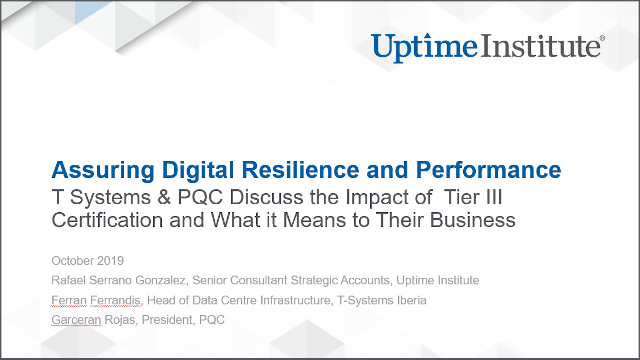 Webinar: Assuring Digital Resilience and Performance: A Discussion with T Systems & PQC
