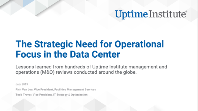 Seminario web: The Strategic Need for Operational Focus in the Data Center
