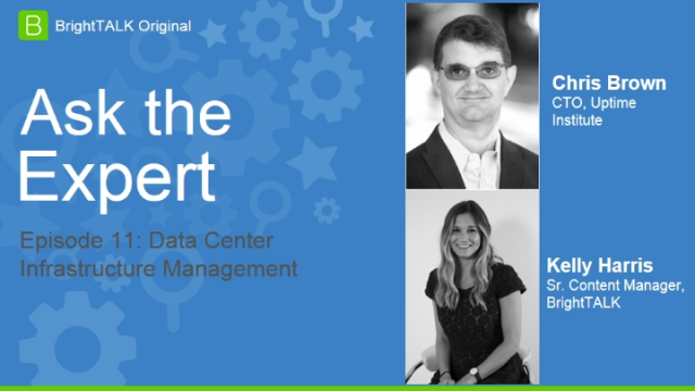 Webinar: Ask the Expert: Data Center Infrastructure Management