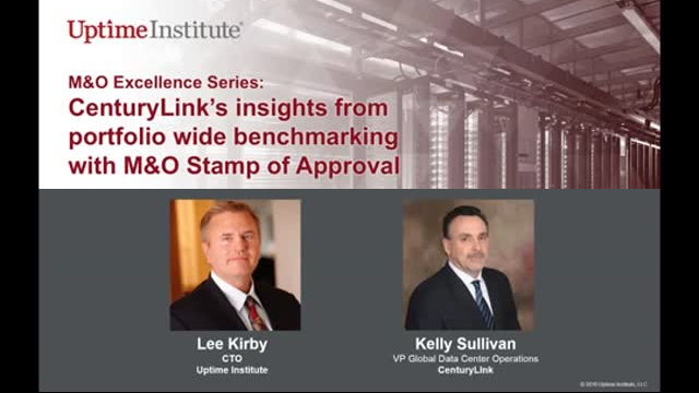 Webinar: M&O Excellence Series with CenturyLink's Kelly Sullivan