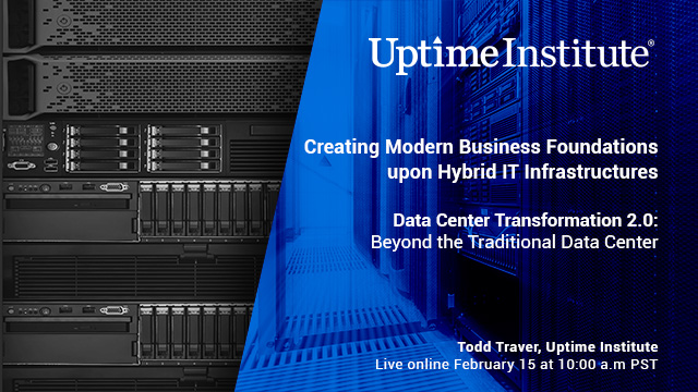 Seminario web: Creating Modern Business Foundations upon Hybrid IT Infrastructures