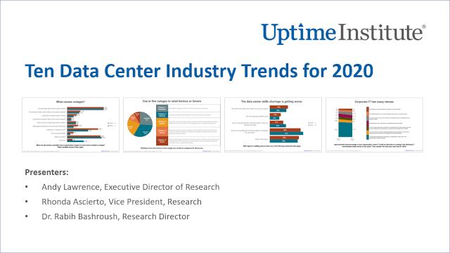 Seminario web: Ten Data Center Industry Trends for 2020