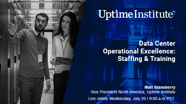 Seminario web: Data Center Operational Excellence: Staffing & Training