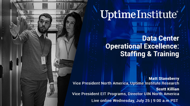 Webinar: Data Center Operational Excellence: Staffing & Training