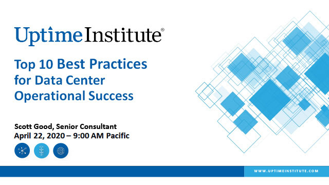 Webinar: The Top 10 Best Practices for Data Center Operational Success
