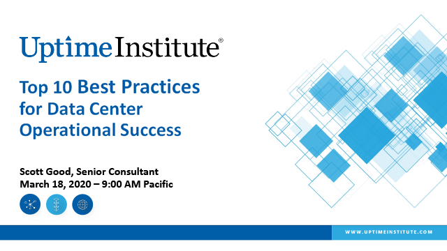 Webinar: Top 10 Best Practices for Data Center Operational Success