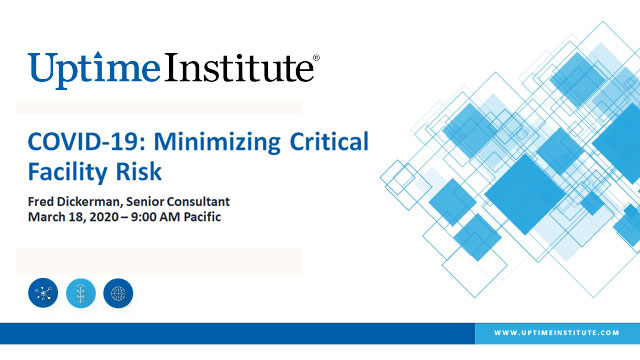COVID-19: Minimizing Critical Facility Risk