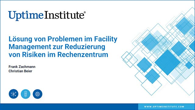 在线研讨会:Lösung von Problemen im FM zur Reduzierung von Risiken im Rechenzentrum