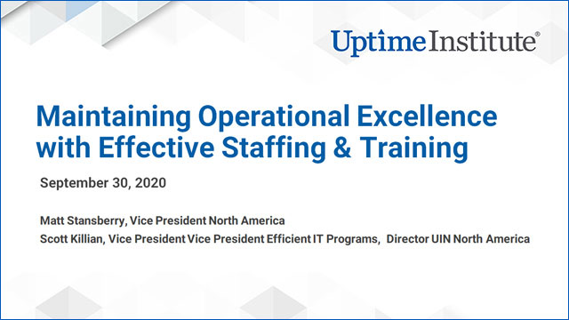 Seminario web: Maintaining Your Operational Excellence with Effective Staffing & Training